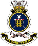 HMAS Choules Badge.