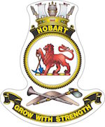 HMAS Hobart (III) badge