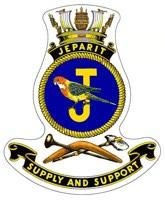 HMAS Jeparit Badge