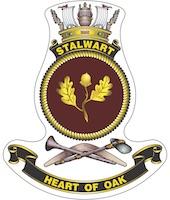 HMAS Stalwart (III) badge