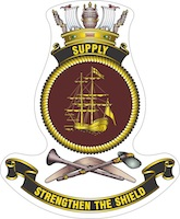 HMAS Supply (II) badge