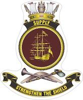 HMAS Supply (II) badge