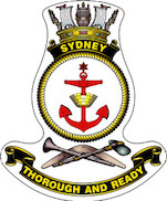 HMAS Sydney (V) ship badge