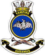 HMAS Vampire (II) Badge