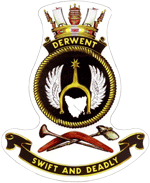 HMAS Derwent Badge