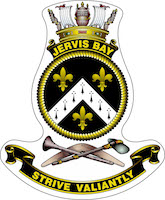HMAS Jervis Bay (I) Badge