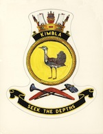 HMAS Kimbla Badge