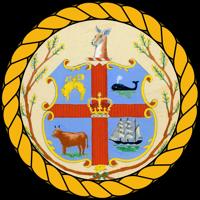 HMAS Melbourne (I) Badge