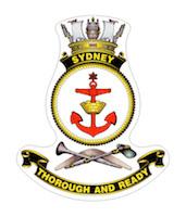 HMAS Sydney (IV) ship badge