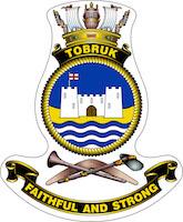 HMAS Tobruk (II) ship badge