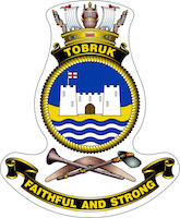 HMAS Tobruk (II) ship badge