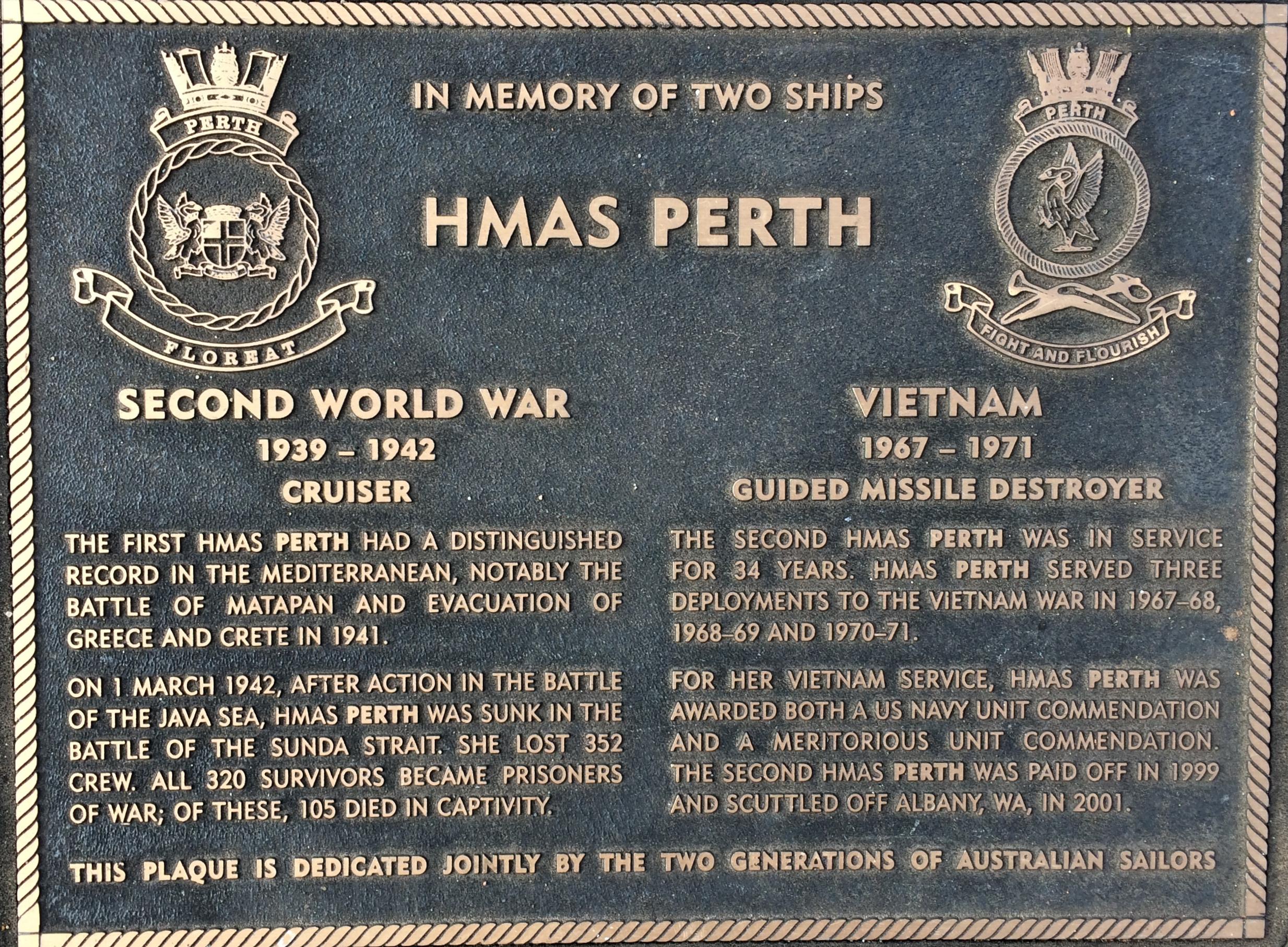 HMAS Perth (I)   Royal Australian Navy