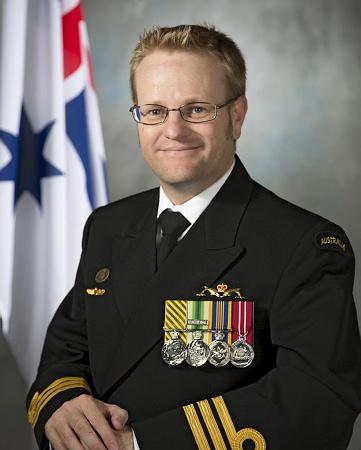 Commander Micheal Jacobson Royal Australian Navy