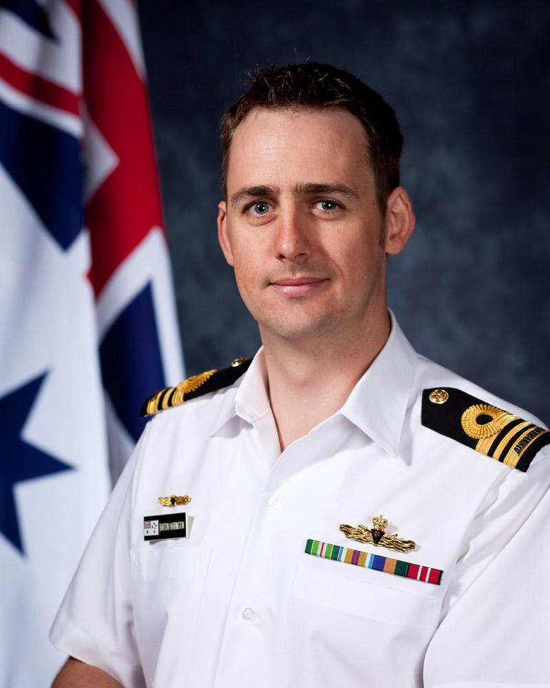 lieutenant commander barton harrington