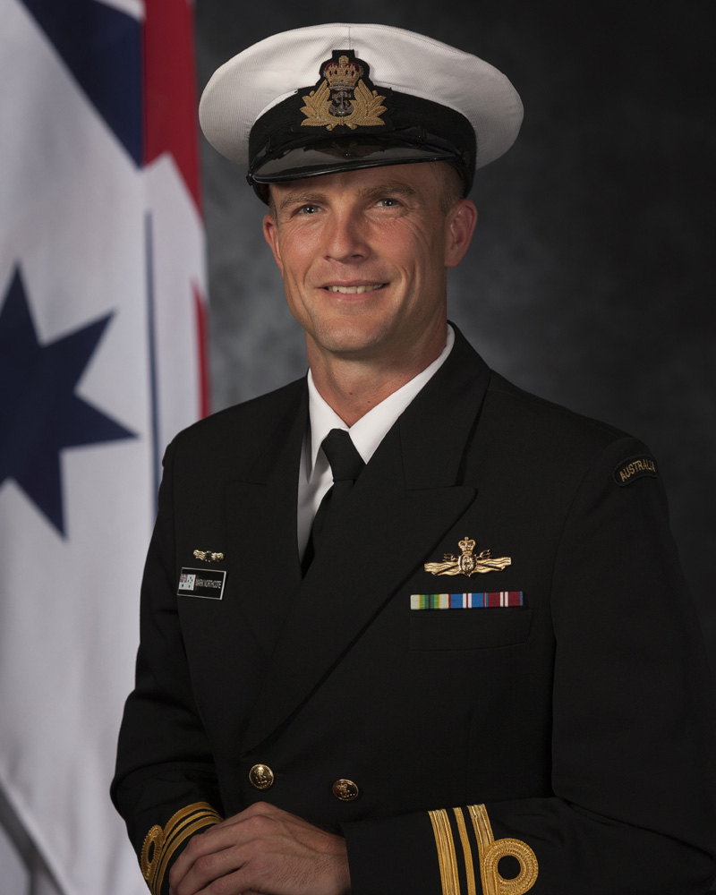 lieutenant commander mark northcote