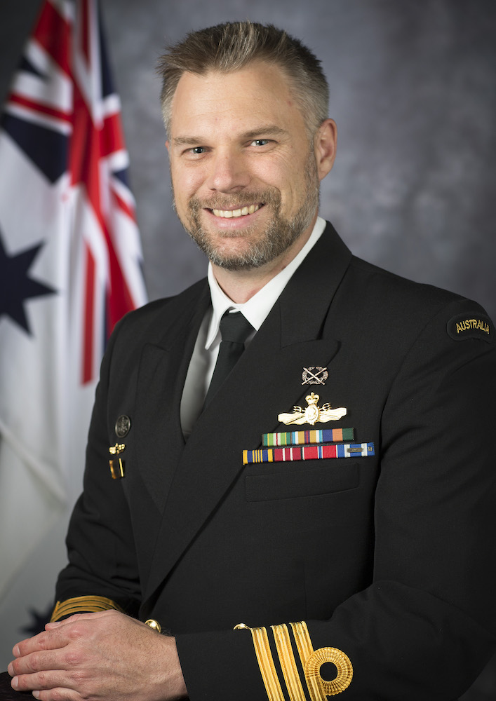 CMDR David Shirvington