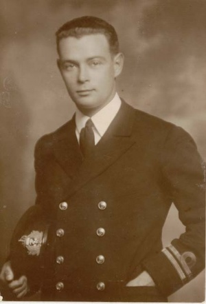 Lieutenant Spurgeon as 1st Lieutenant of HMAS Marguerite