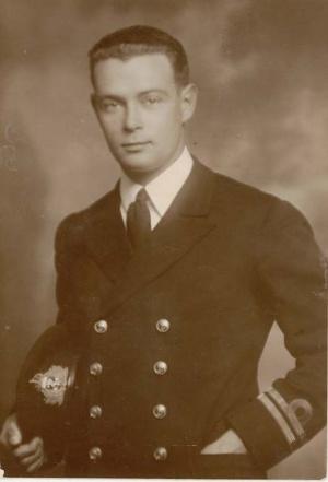 Lieutenant Spurgeon as 1st Lieutenant of HMAS Marguerite
