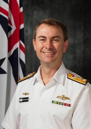CDRE Chris Smallhorn