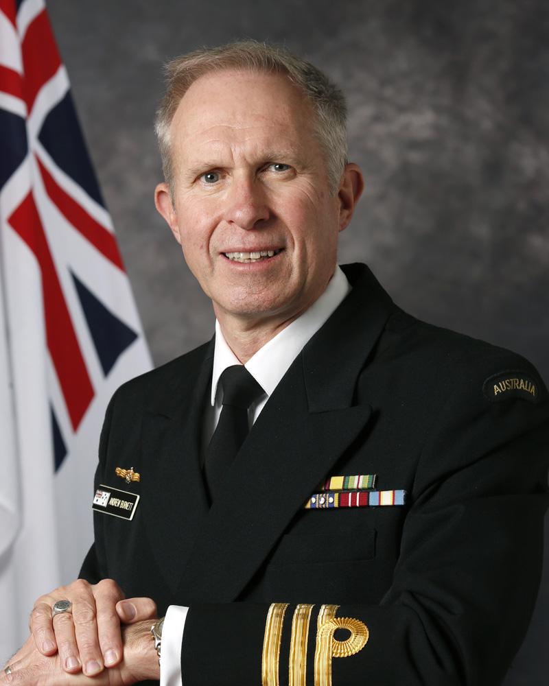 CMDR Andrew Burnett