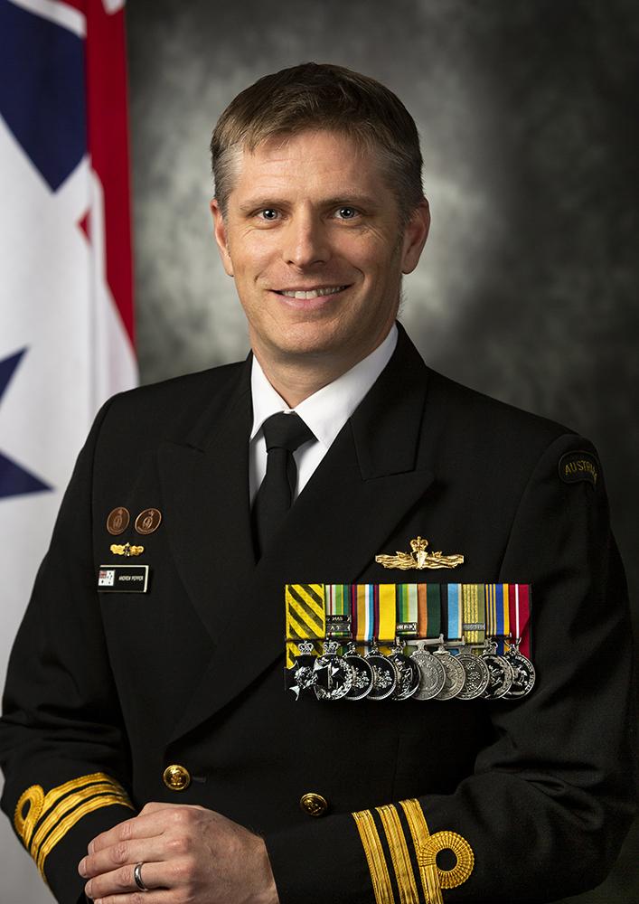CMDR Andrew Pepper
