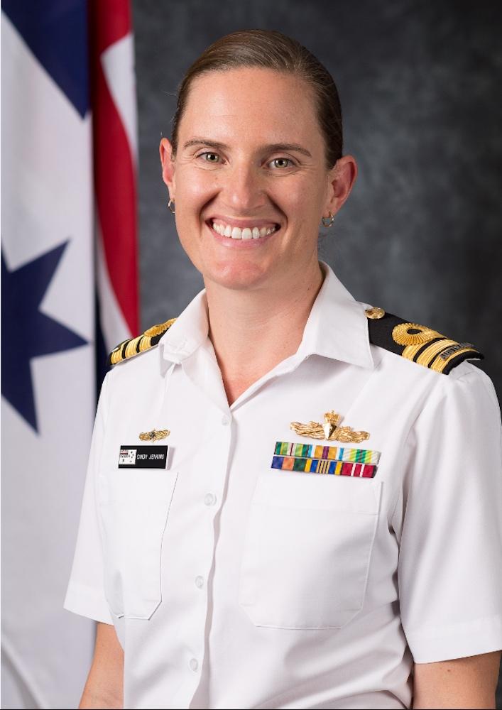 CMDR Cindy Jenkins
