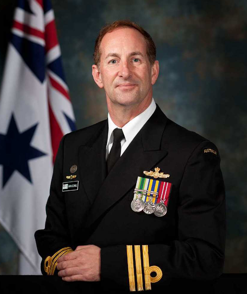 CMDR Mark McConnell