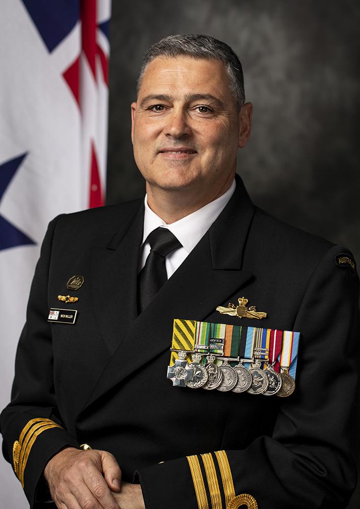 CMDR Michael Miller