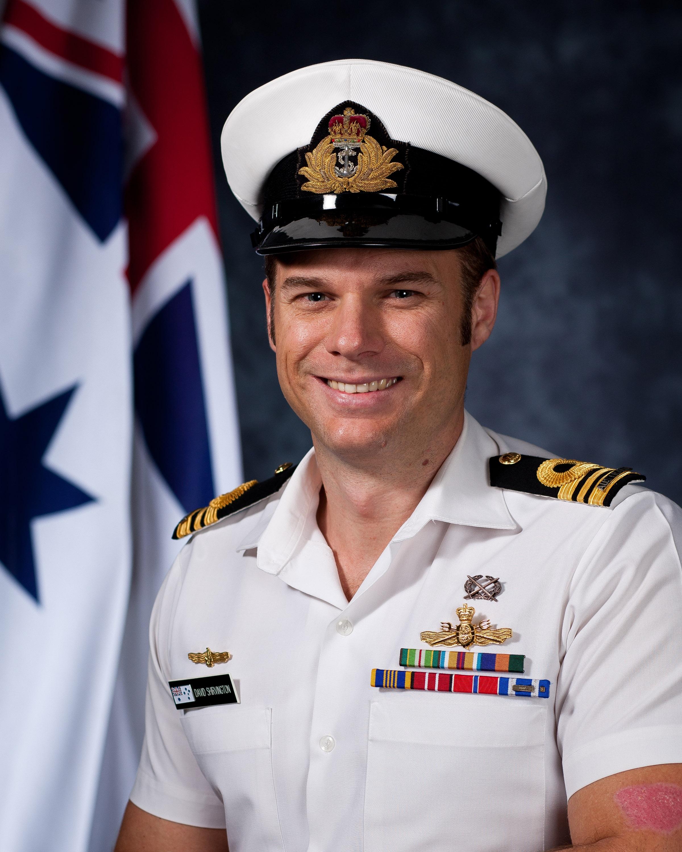 lieutenant commander david shirvington