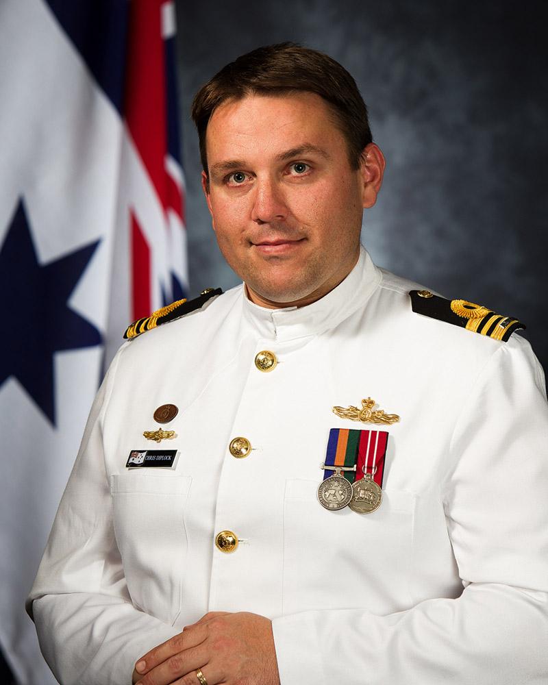 lieutenant commander chris diplock