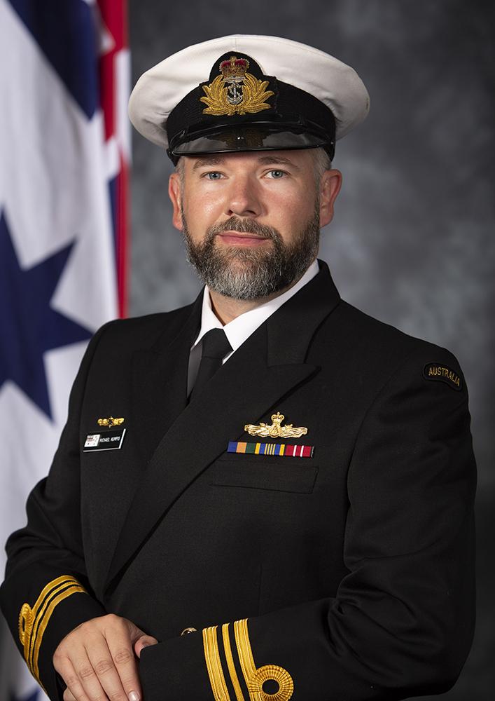 lieutenant commander michael kumpis