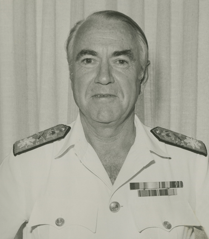 Rear Admiral Neil McDonald
