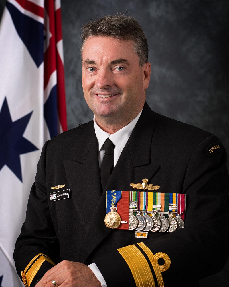 Rear Admiral Jonathan Mead
