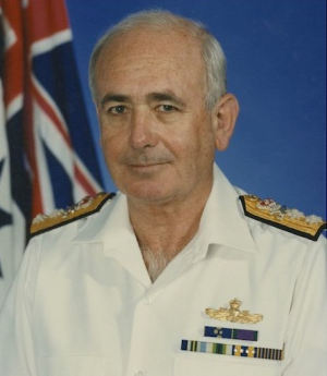 Vice Admiral Donald Chalmers