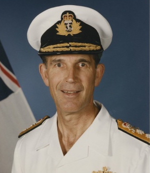 Vice Admiral Rodney Taylor