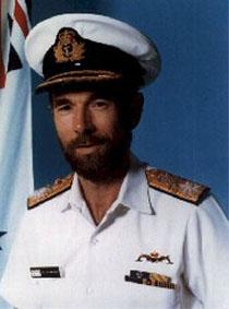 Rear Admiral Peter Briggs