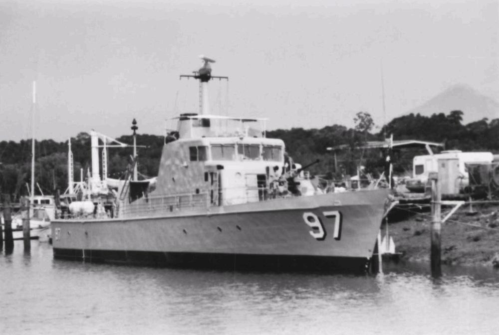 Hmas Barbette Royal Australian Navy