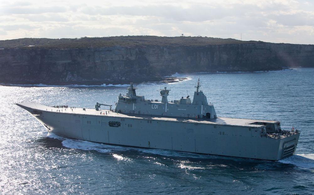 Resultado de imagen para HMAS Adelaide