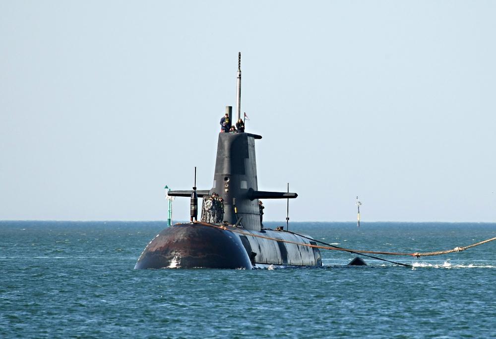 國艦國造,潛艦,澳洲,海軍,奧伯龍級,HMAS Collins,Oberon,Shortfin Barracuda Block 1A