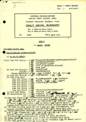 Naval Summary April 1945