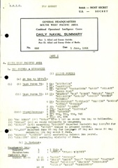 Naval Summary June 1944