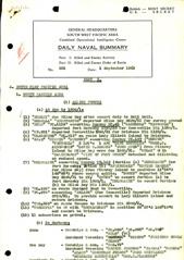 Naval Summary September 1943