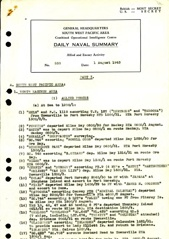 Naval Summary August 1943