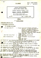 Naval Summary August 1944