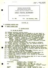 Naval Summary December 1943