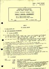Naval Summary January 1945