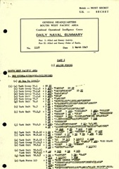 Naval Summary March 1945