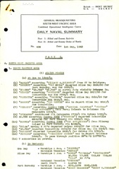 Naval Summary May 1943