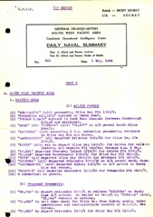 Naval Summary May 1944