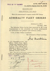 Admiralty Fleet Orders 1944 - 2424-2548